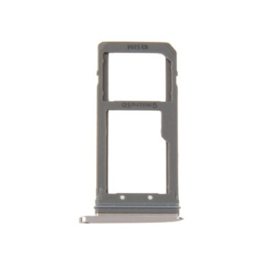Porta Sim Scheda Micro Sd Rose Gold Per Galaxy S7 Edge / G935F Ricambio