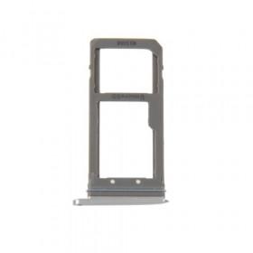 Porta sim scheda micro SD Silver Samsung Galaxy S7 Edge / G935F ricambio
