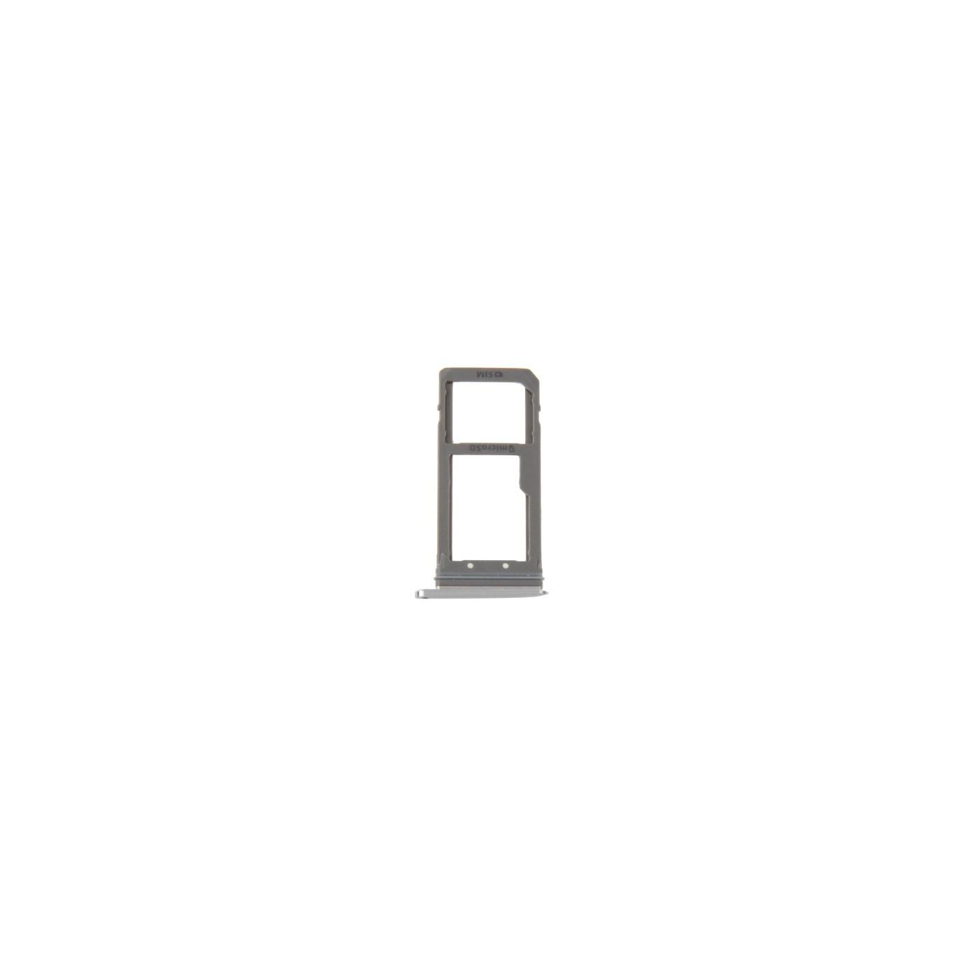 Porta sim Scheda Micro SD Silver Galaxy S7 Edge / G935F Ricambio