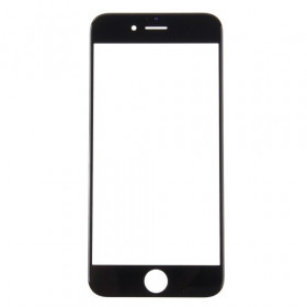 Vidrio frontal de vidrio para pantalla táctil negra Apple iPhone 7