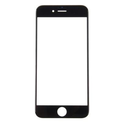 Vetro Vetrino Frontale Per Apple Iphone 7 Nero Touch Screen
