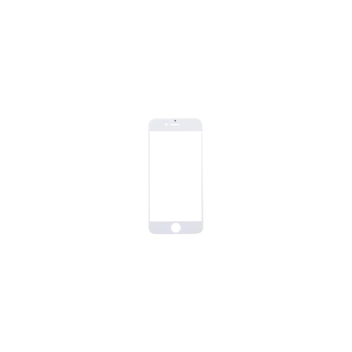 Vitre frontale en verre pour apple iphone 7 Ecran tactile blanc