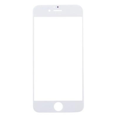 Vidrio frontal de vidrio para apple iphone 7 Pantalla táctil blanca