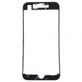 Marco digitalizador LCD marco para iphone 7 negro