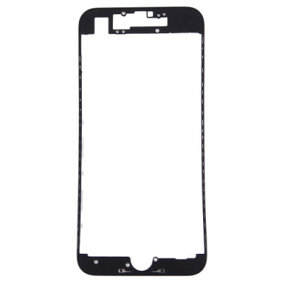 Cornice Digitizer Frame Lcd Per Iphone 7 Nero