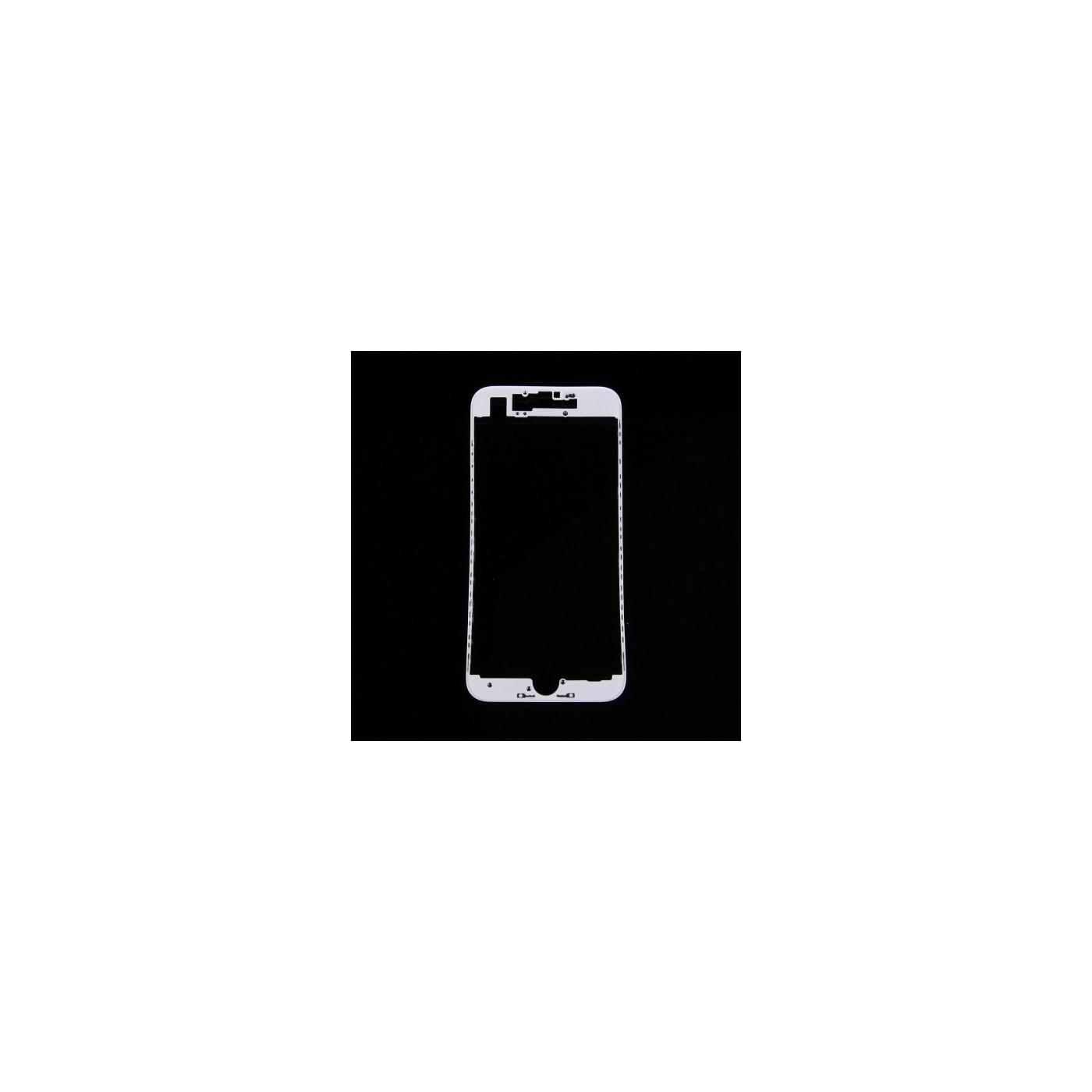 Cadre de numérisation cadre LCD pour iphone 7 blanc
