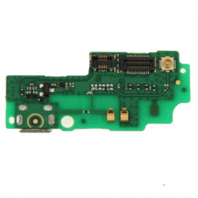 Conector de carga plana y flexible para Huawei Honor 3X / G750 data dock