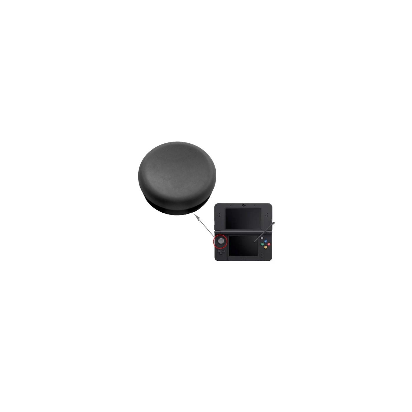 CONTRÔLEUR DE PIÈCES DE RECHANGE POUR CLÉS ANALOGIQUES 3DS BLACK JOYPAD