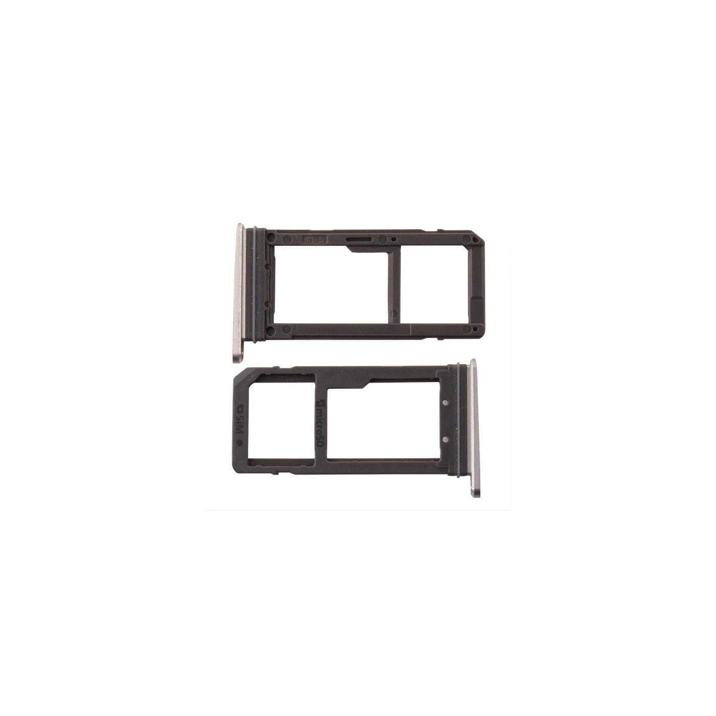 Porta sim card micro SD Black Samsung Galaxy S7 G930F parts