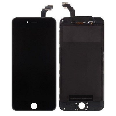 Display Lcd Touch Screen + Frame Per Apple Iphone 6 Plus Nero Originale Tianma