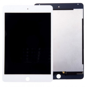 Display Lcd + Touch Screen per apple ipad mini 4 Bianco Ricambio