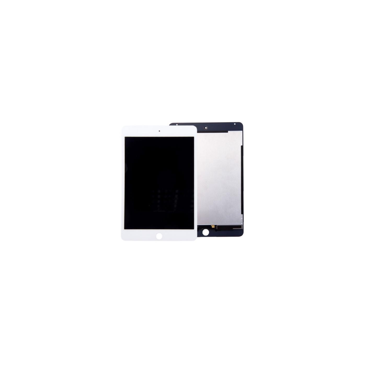 Anzeige LCD + Touchscreen für Apple iPad Mini 4 Weiß Ersatz