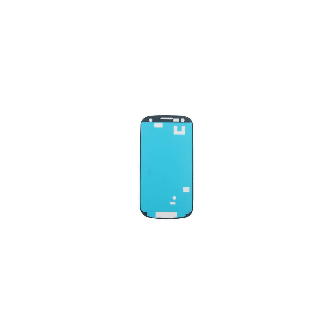 Vidrio adhesivo de doble cara para Samsung Galaxy S4 mini i9195 pantalla táctil de la etiqueta engomada