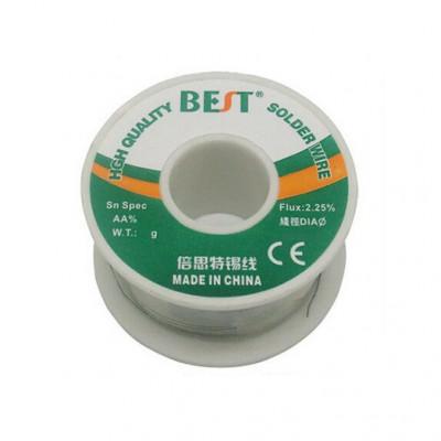 El mejor alambre de soldadura de estaño 1mm - 100g SN 63/67