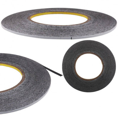 Double-Sided Adhesive Tape For Smartphone And Tablet Repair, Width 2 Mm, Length 50 Meters