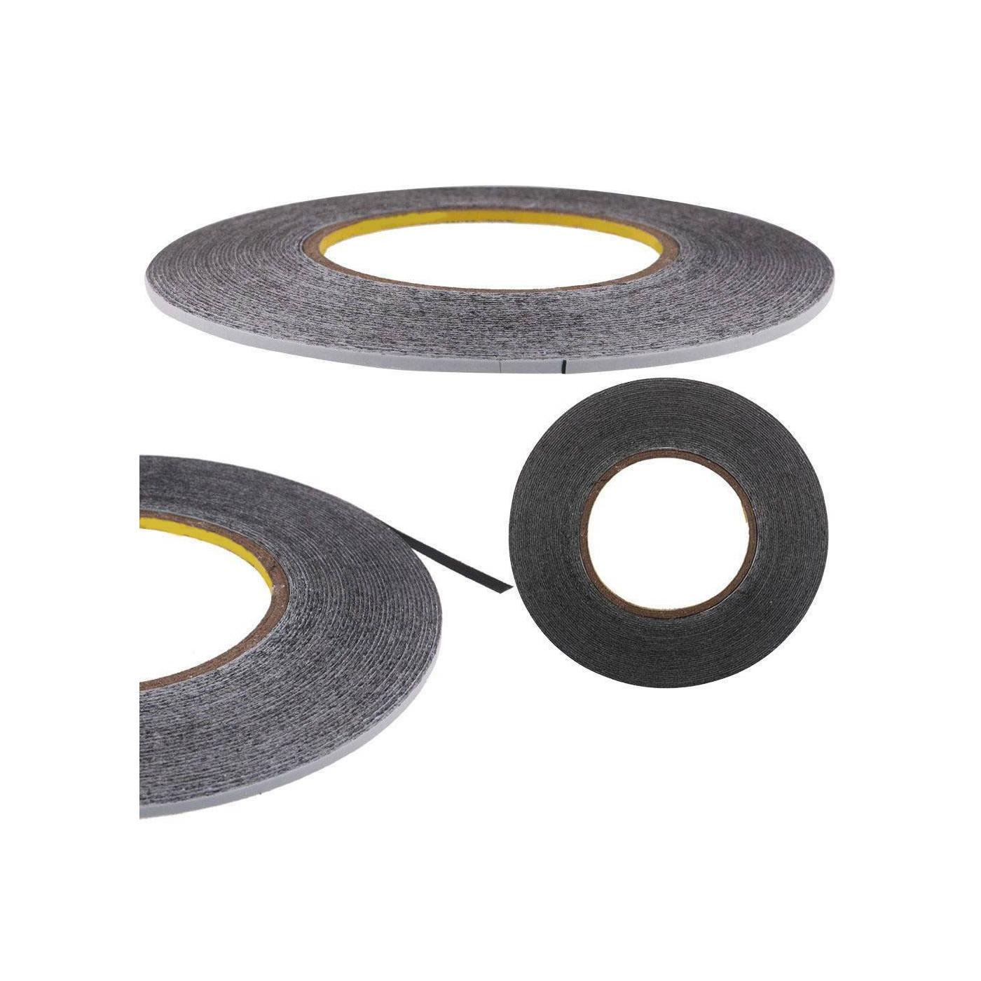Ancho de cinta de doble cara 5 mm reparación de la tableta del smartphone longitud 50 mt