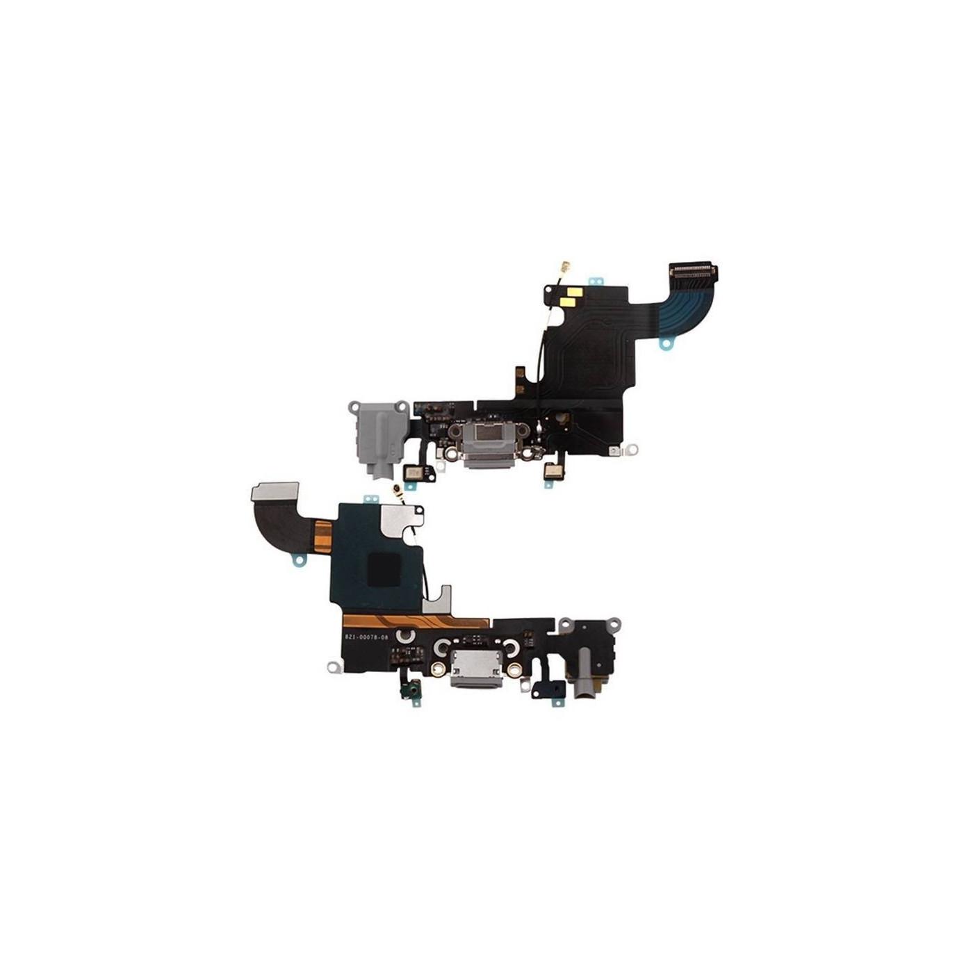 Connecteur de charge plat flexible pour microphone audio dock gris iphone 6S