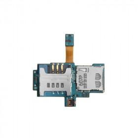 Flex flat micro sd card reader sim card for Samsung Galaxy S i9000