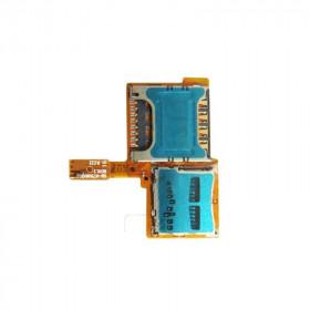 Flex flat lettore scheda sim card micro sd Galaxy Note 3 Neo N7505