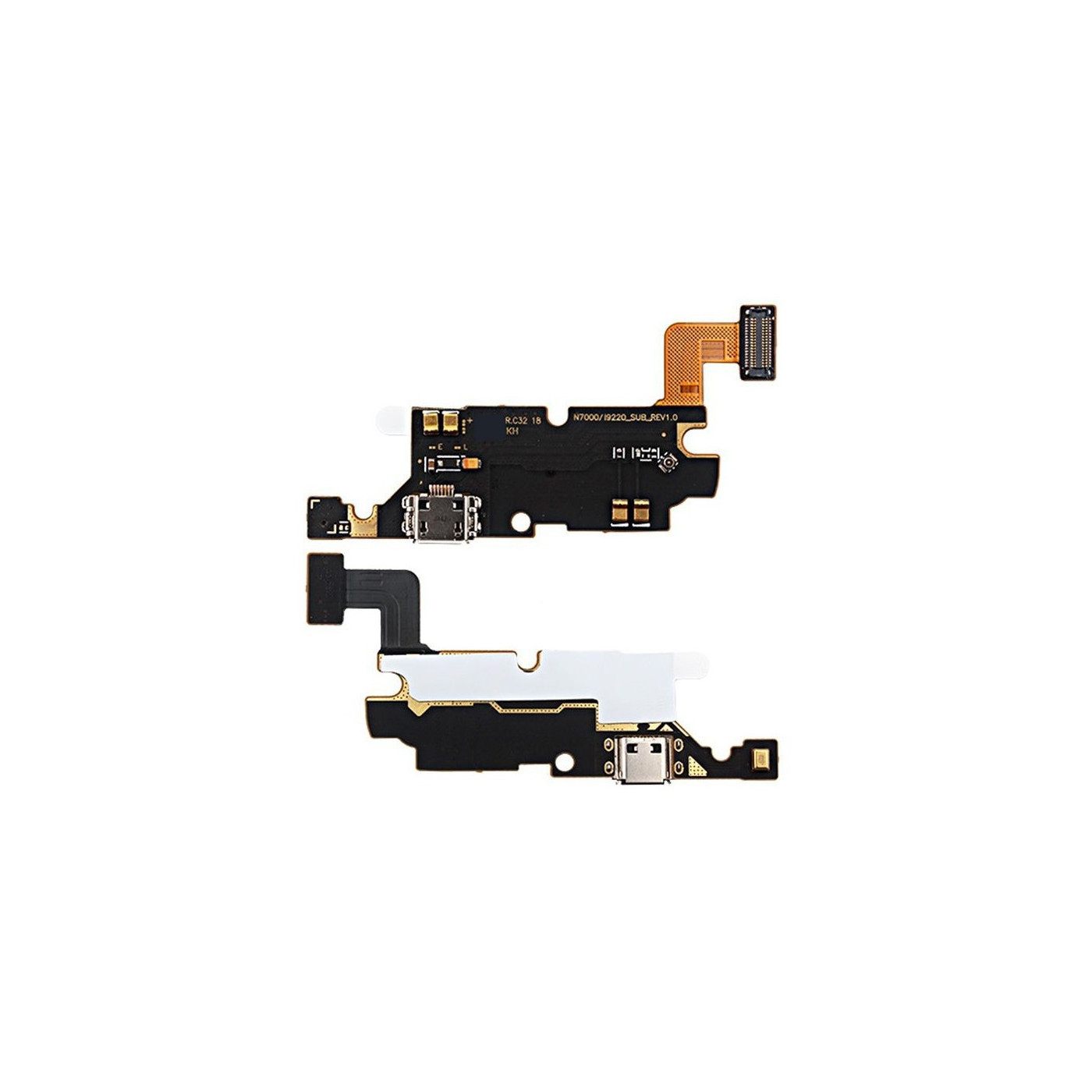Connecteur de charge plat flexible pour Samsung Galaxy Note N7000