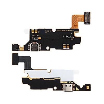Cable Plano, Plano Y Flexible Para Conector De Carga Para Samsung Galaxy Note N7000