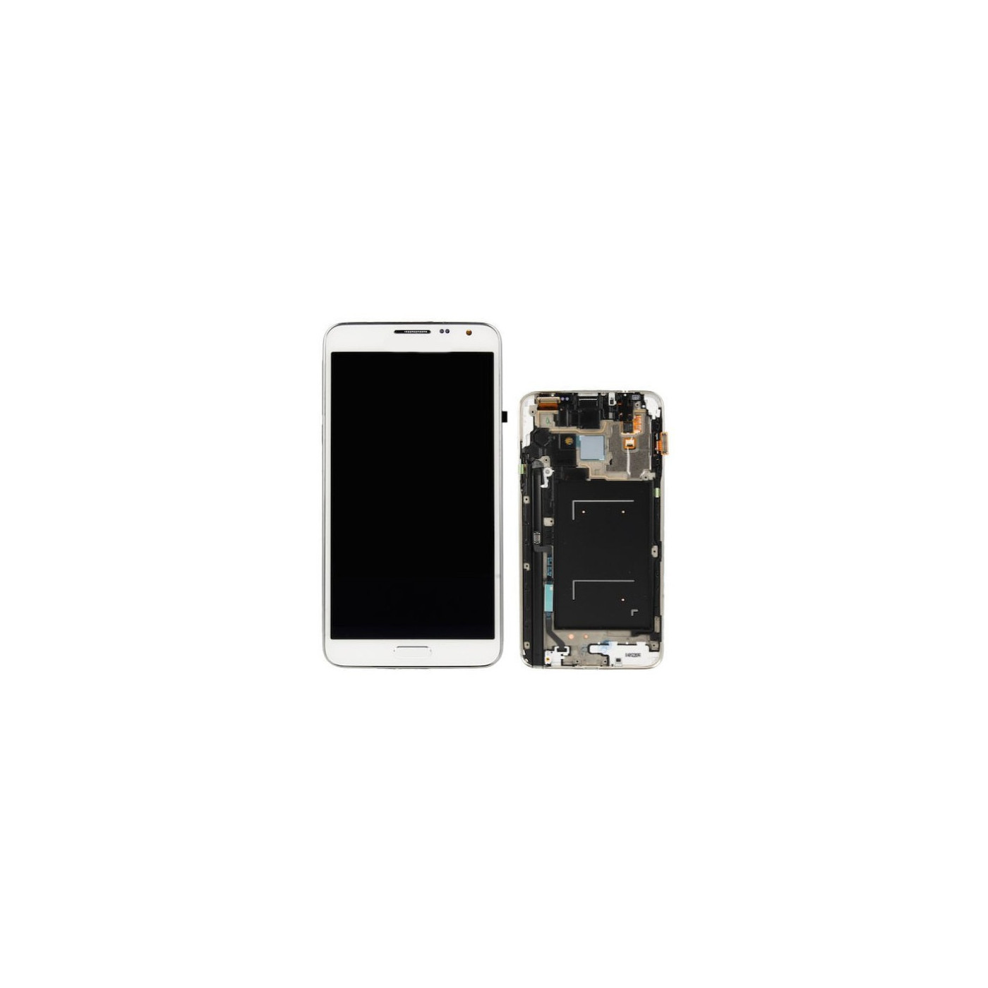 Display lcd touch schermo samsung Note 3 Neo bianco N7505 originale GH97-15540B