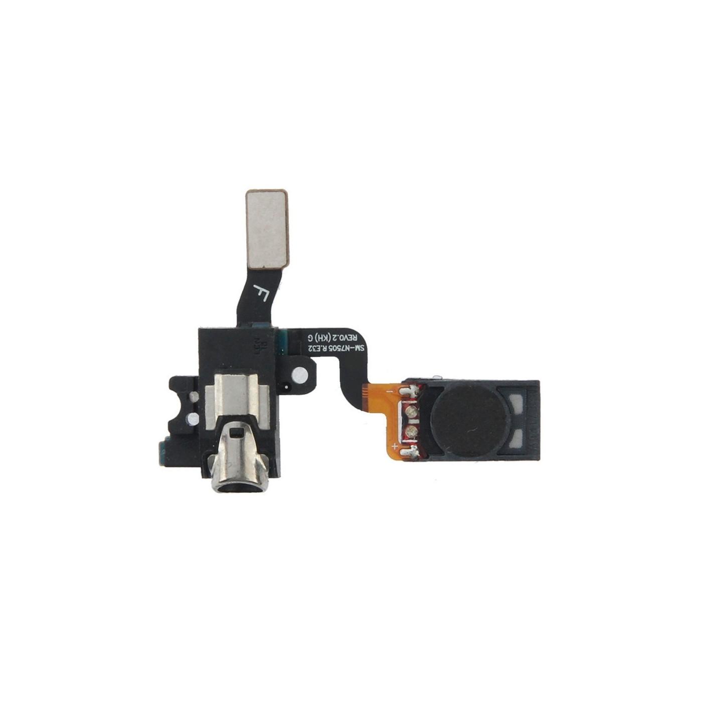 Flat Flex Audio Jack für Samsung Galaxy Note 3 Neo N7505 Ersatz-Headset