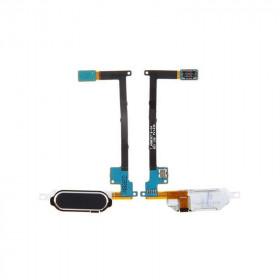 Inicio botón negro Samsung Galaxy Note 4 SM-N910F botón plano flexible NOTA IV