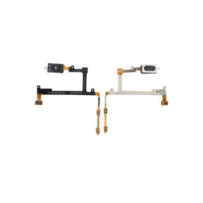 Câble Plat Arlophone + Boutons De Volume Pour Samsung Galaxy S3 I9300 I9305