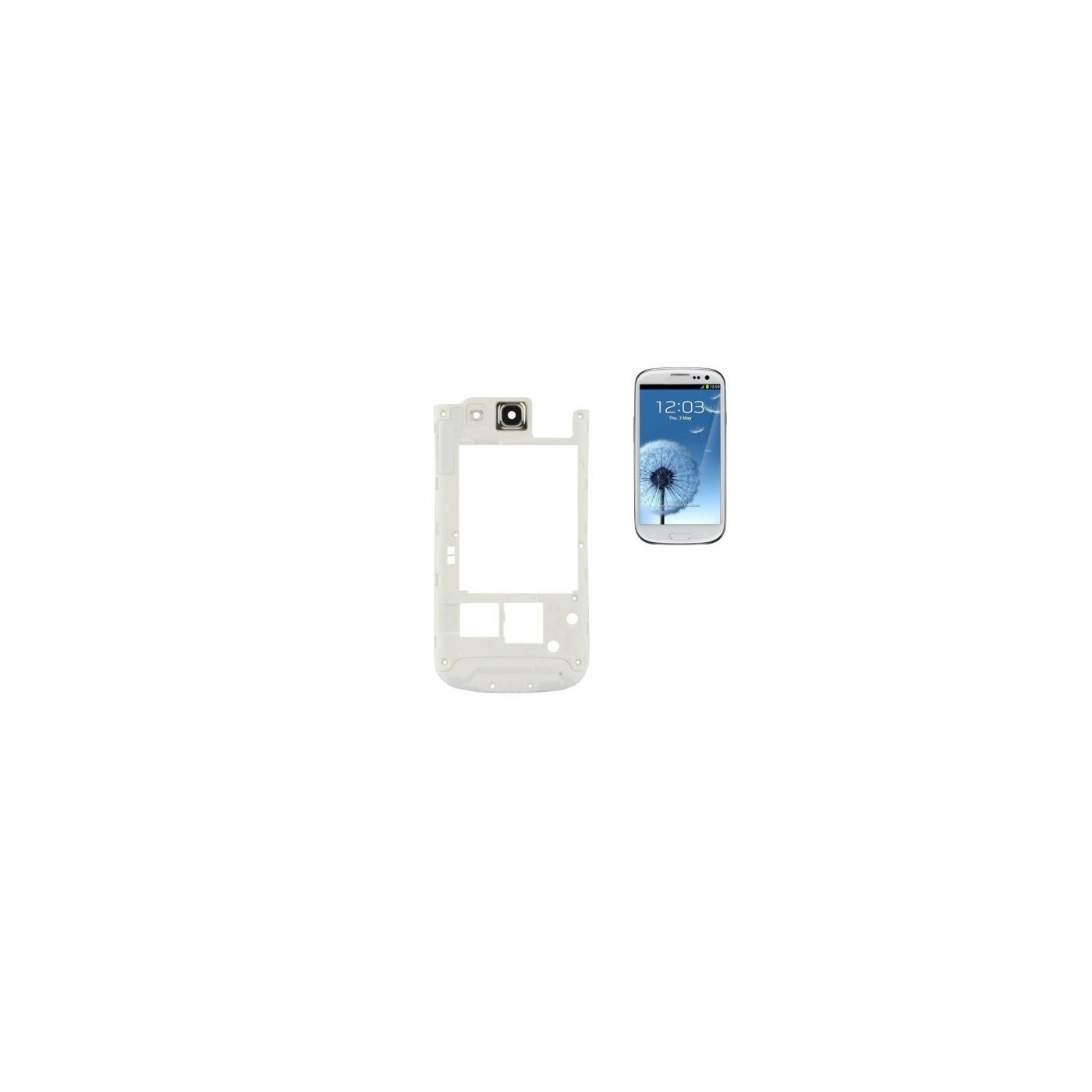Frame Back Frame für Samsung Galaxy S3 i9300 weißen Rahmen