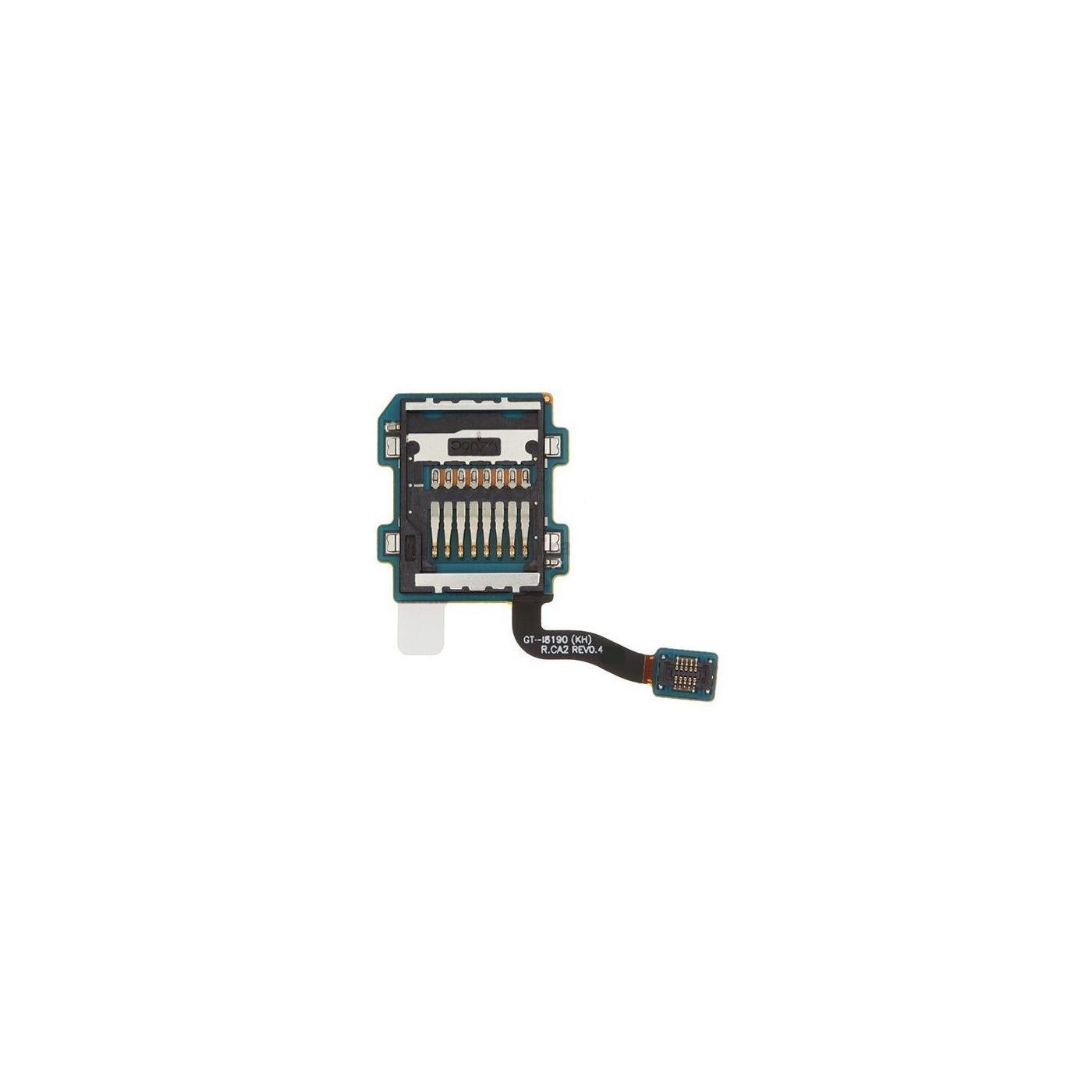Lettore memoria sd per samsung galaxy s3 mini i8190 flat flex