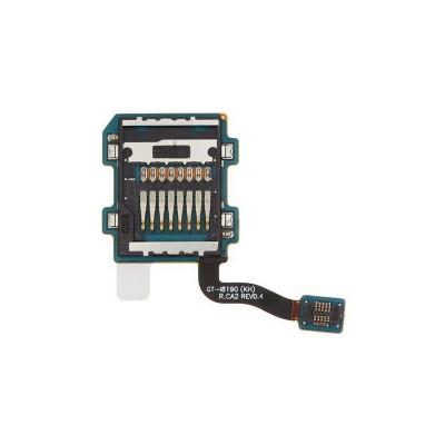 Lecteur de mémoire sd pour samsung galaxy s3 mini i8190 flex plat