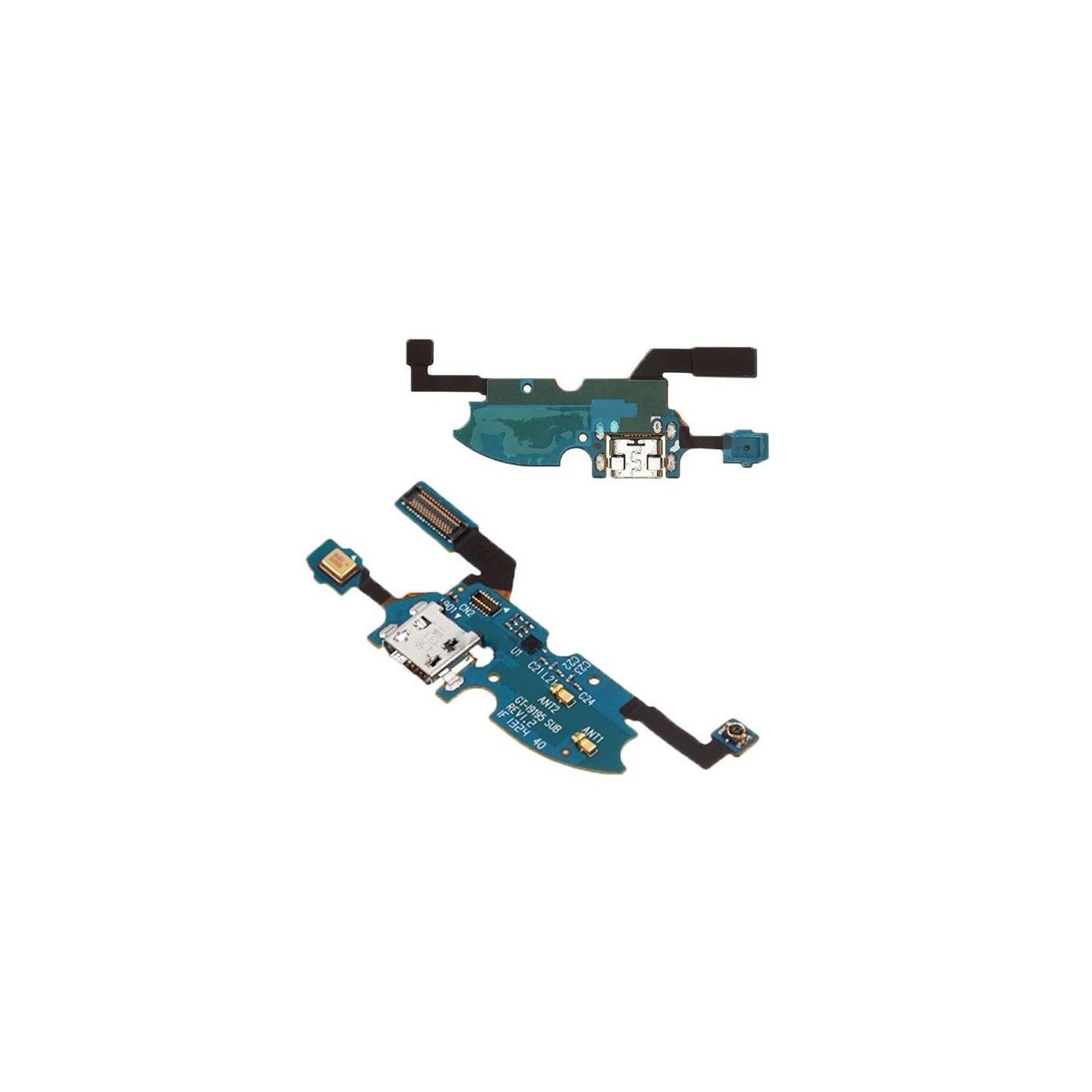 Conector de carga de la flexión plana para Samsung Galaxy S4 Mini I9195 usb dock