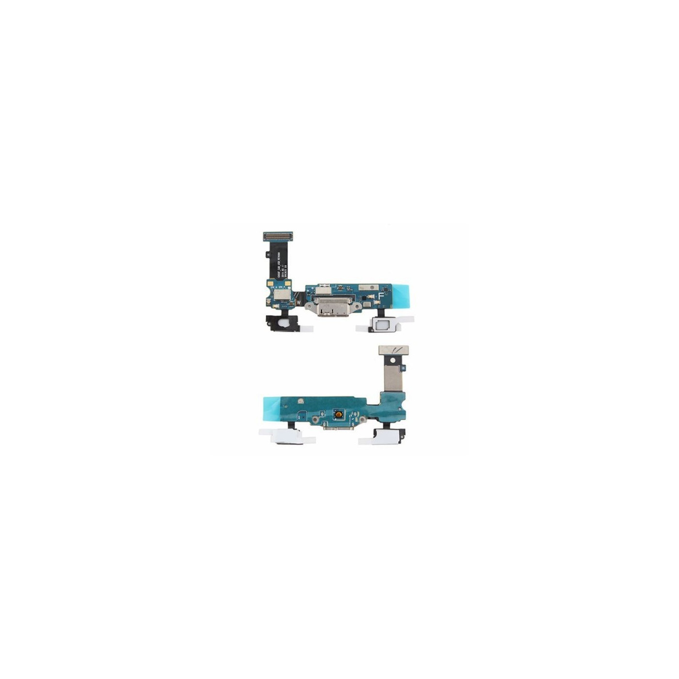 Flat Flex Plug Data Charge para Samsung Galaxy S5 SM-G900 Micro USB Sensor Keys
