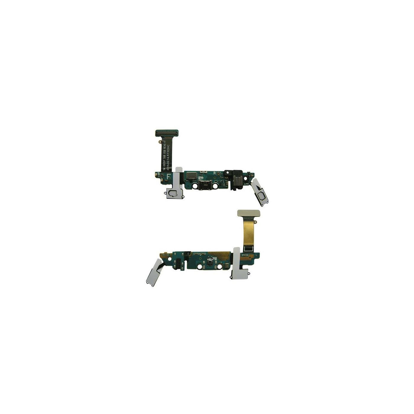 Flacher Flex Ladeanschluss für Samsung Galaxy S6 G920F Datendock