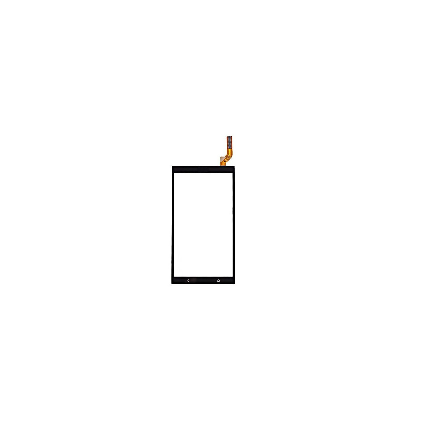 Glass + digitizer touch screen for HTC desire 700 black slide no LCD display