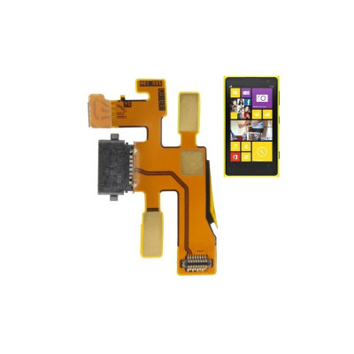 Connecteur de charge plat flexible pour station d'accueil Nokia 1020