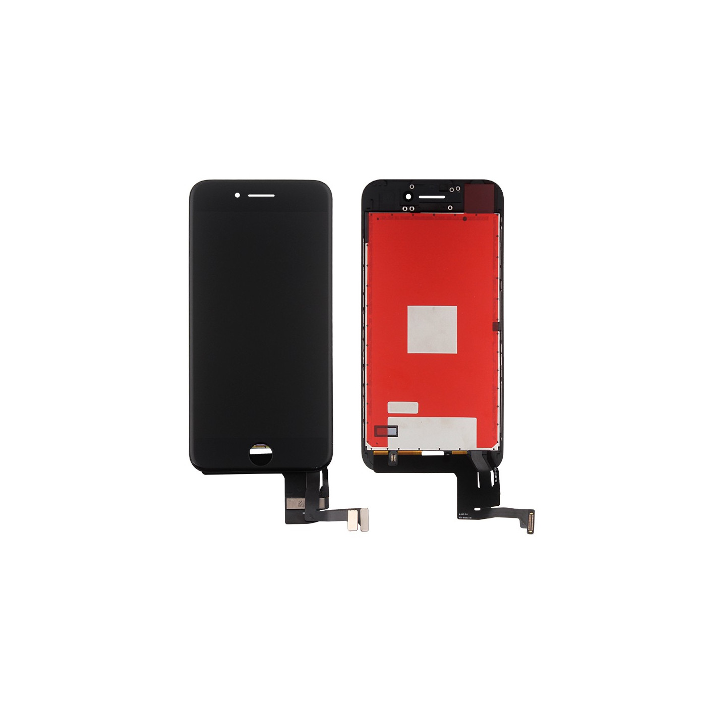 Touch screen + lcd display + frame for Apple iphone 7 black screen glass