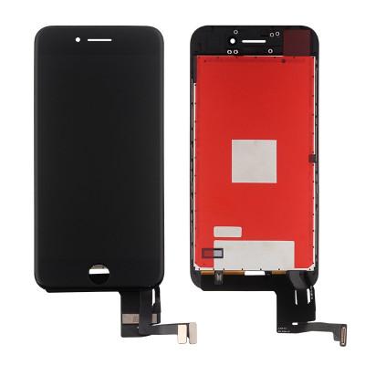 Touch screen lcd display frame per apple iphone 7 nero vetro schermo
