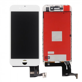 Touch screen lcd display frame per apple iphone 7 bianco vetro schermo + Kit