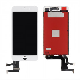Touch screen + vetro + schermo lcd display assemblato per iphone 6 4.7 nero