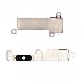 Botón de inicio de la placa de soporte de metal Botón de respaldo de botón de respaldo de iPhone 7