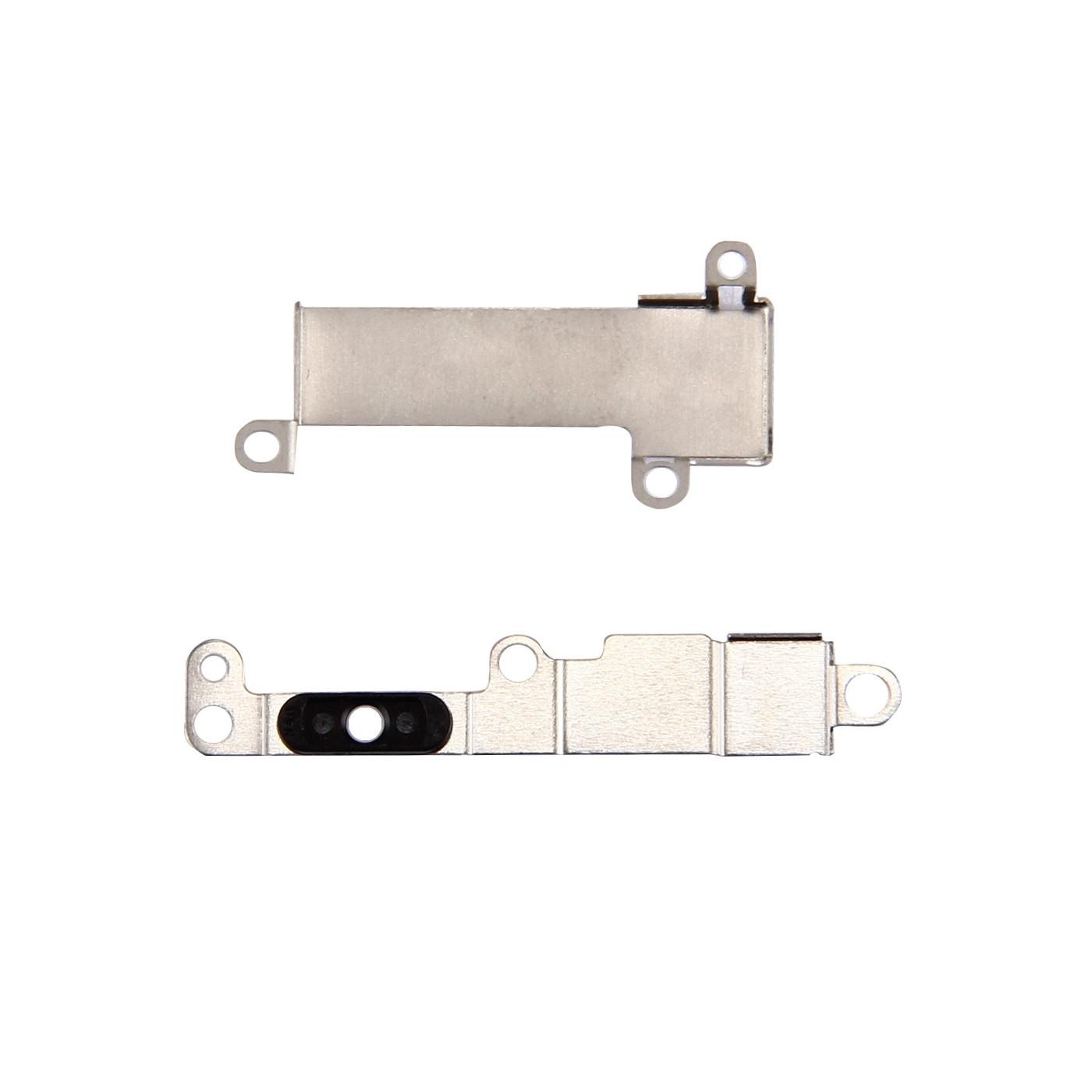 Metallklammerplatte-Hauptknopf iPhone 7 Rückseite Metallbraket Knopf