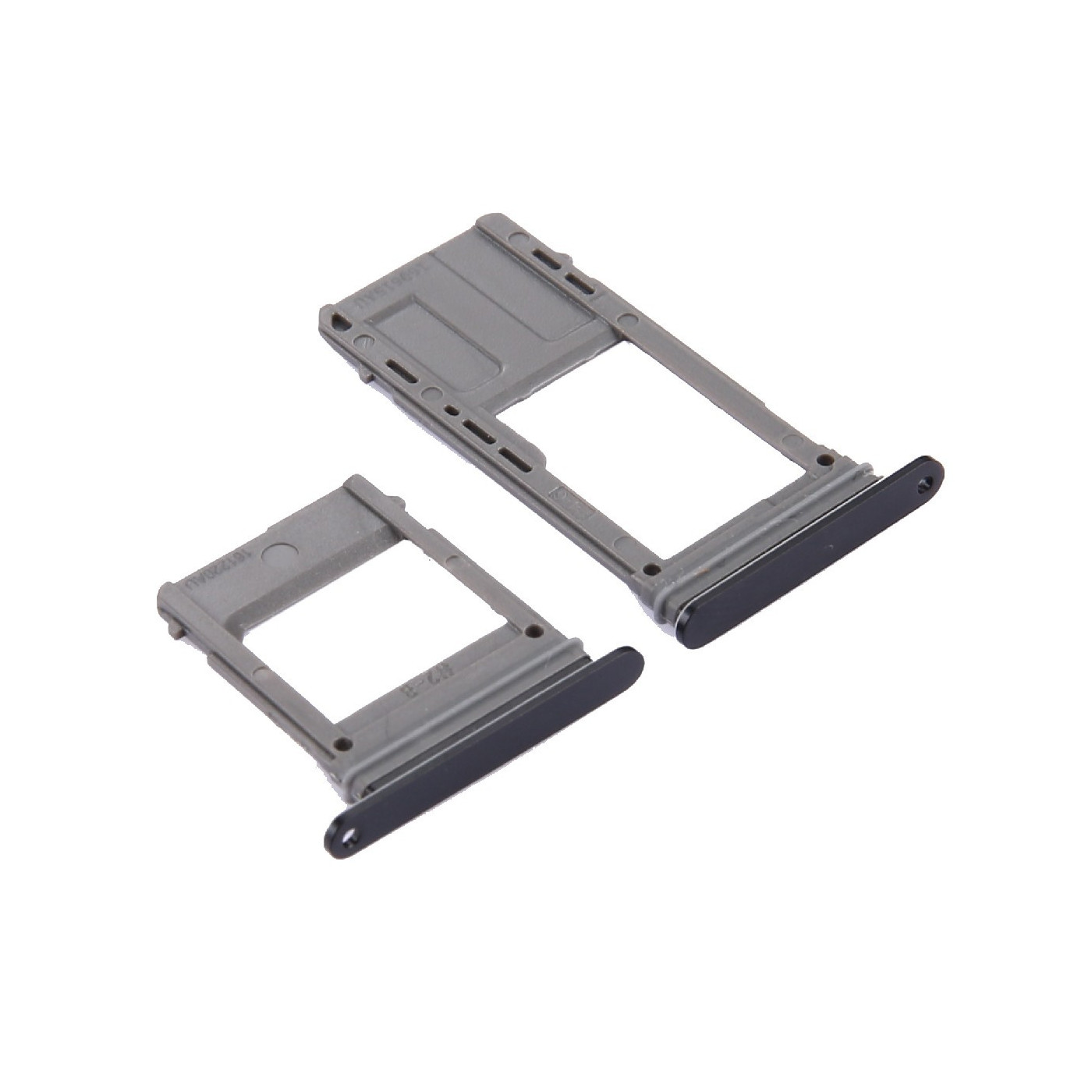 The SIM DOOR SD CARD Galaxy A5 2017 A520 + A7 2017 A720 BLACK SLOT SLIDE