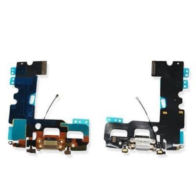 Flacher Flex-Ladeanschluss für iPhone 7 PLUS Graues Audio-Dock-Mikrofon