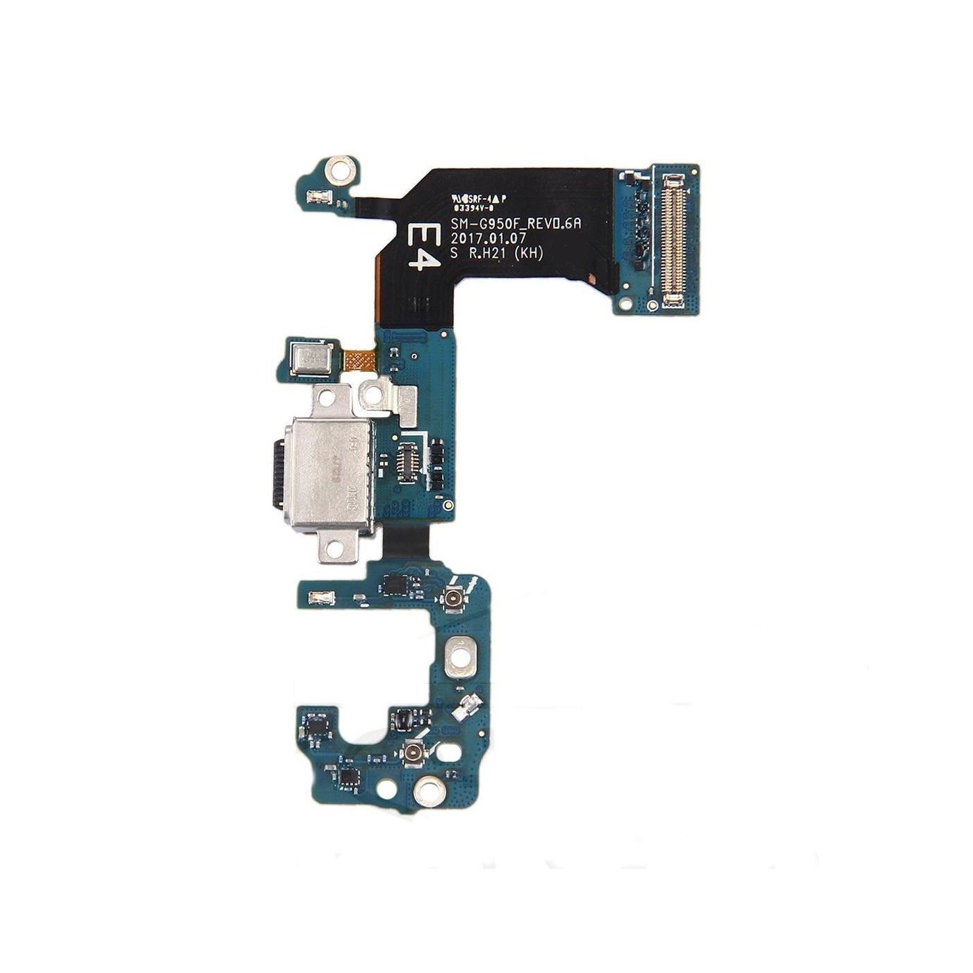 Flat flex connettore di ricarica cavo dock samsung Galaxy S8 G950F microfono