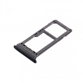 The SIM DOOR SD CARD Samsung Galaxy S8 Black SLOT SLIDE CARRIAGE TRAY