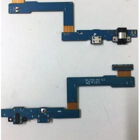 Conector de carga plana y flexible para Galaxy Tab A 9.7 T550 base de carga