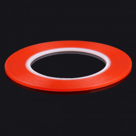 3mmDouble Sided Adhesive Sticker Tape for iPhone / Samsung / HTC Mobile Phone Touch Screen Repair, Length: 25m (Red)