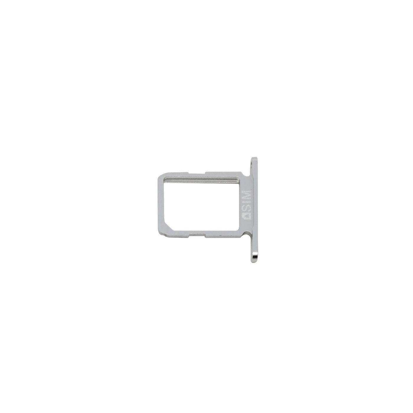 Support de carte SIM Silver Samsung Galaxy S6 SM-G920F Blanc Remplacement